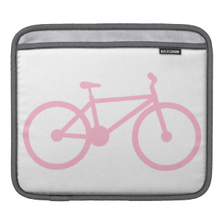 Light Pink Bicycle Sleeves For iPads