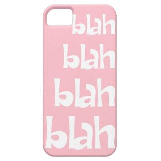 Light Pink Blah Blah Blah iPhone 5s Case