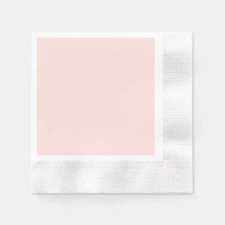 Light Pink Blush Paper Napkins