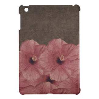 Light Pink Brown Flowers II iPad Mini Case