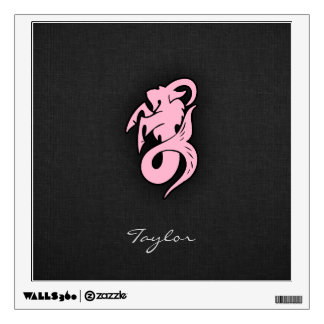 Light Pink Capricorn Wall Decal