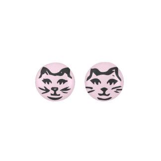 LIGHT PINK CAT EARRINGS