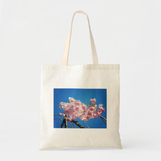 Light Pink Cherry Blossoms On A Branch Tote Bag