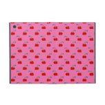 Light pink cherry pattern cases for iPad mini