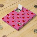 Light pink cherry pattern countdown calendar