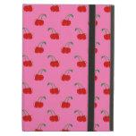Light pink cherry pattern iPad cases