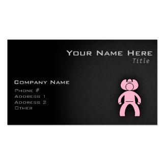 Light Pink Cowboy Business Cards