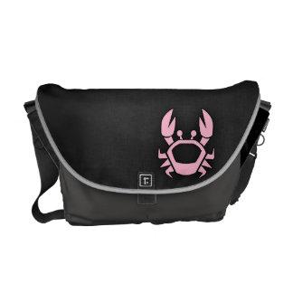 Light Pink Crab Courier Bag