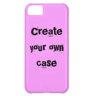 Light pink Create Your Own Case iPhone 5C Cases