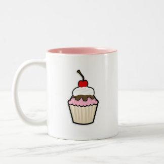 Light Pink Cupcake Mug