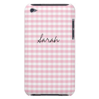 Light Pink Customizable iPod Touch Case-Mate Case