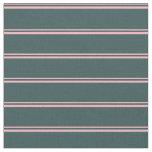 [ Thumbnail: Light Pink & Dark Slate Gray Colored Pattern Fabric ]