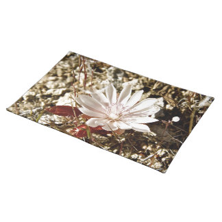 LIGHT PINK DESERT FLOWER PLACE MATS