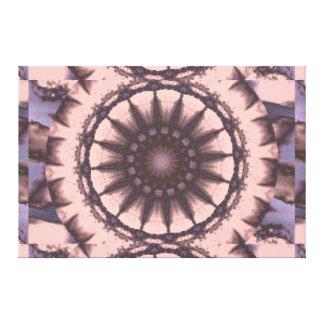 Light Pink Dharma Sky Wheel 1 C1 SDL Canvas Print