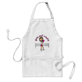 Light Pink Female Boxing Adult Apron