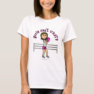 Light Pink Female Boxing T-Shirt