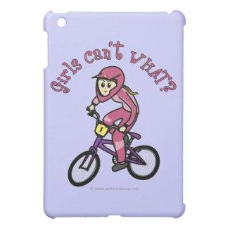 Light Pink Girls BMX iPad Mini Cover