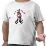 Light Pink Girls BMX Tshirts