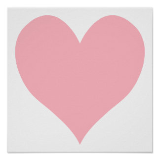 Heart Shaped Posters | Zazzle
