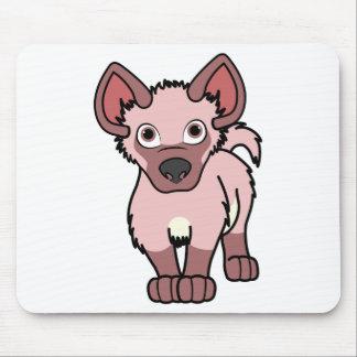 Light Pink Hyena Cub Mouse Pad