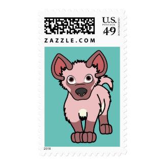 Light Pink Hyena Pup Stamp