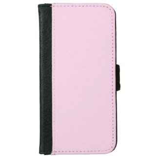 """Light Pink"" iPhone 6 Wallet Case"