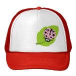 Light Pink Ladybug Trucker Hat