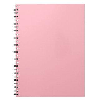 Light Pink Spiral Note Book