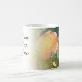 Light Pink Orange Rose Blend Mugs
