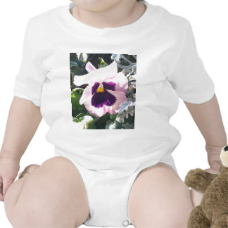 Light Pink Pansy Infant Creeper