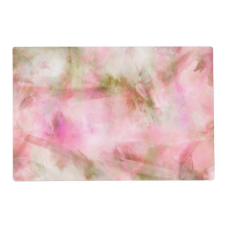 Light Pink Pastel Watercolor Background Placemat