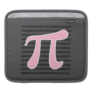 Light Pink Pi Symbol iPad Sleeves