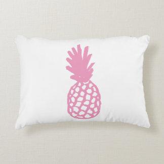 Light Pink Pineapple Accent Pillow