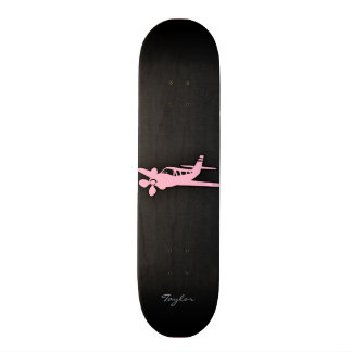 Light Pink Plane Skate Decks