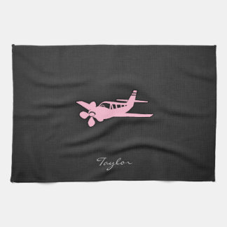 Light Pink Plane Towel