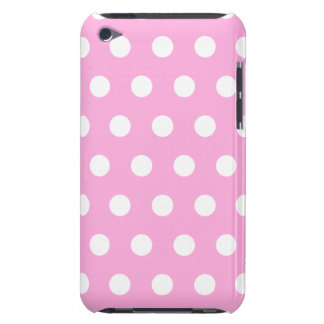 Light Pink Polka Dot iPod Touch Case