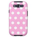 Light Pink Polka Dot Samsung Galaxy S2 Case