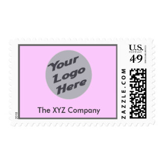 Light Pink Postage Stamps