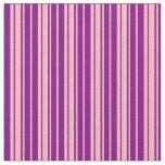 [ Thumbnail: Light Pink & Purple Pattern Fabric ]