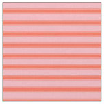 [ Thumbnail: Light Pink & Red Colored Lines/Stripes Pattern Fabric ]