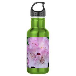 Light Pink Rhododendron 18oz Water Bottle