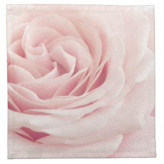 Light Pink Rose Flower - Roses Flowers Floral Cloth Napkin