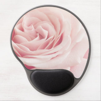 Light Pink Rose Flower - Roses Flowers Floral Gel Mouse Pad