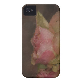Light Pink Rose Oil Painting Case-Mate iPhone 4 Case