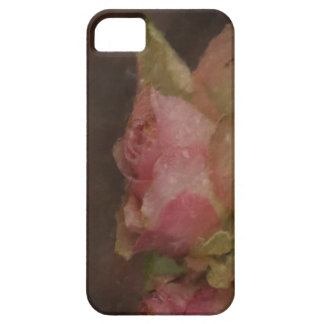 Light Pink Rose Oil Painting iPhone SE/5/5s Case