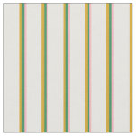 [ Thumbnail: Light Pink, Sea Green, Goldenrod, and Mint Cream Fabric ]
