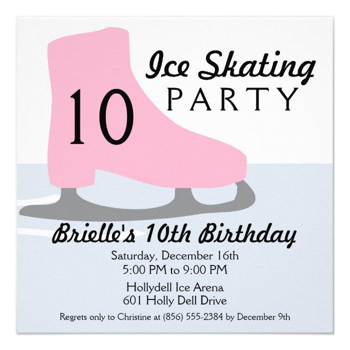 Skating Party Invitations Free Printables - Free Printable ...