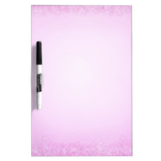 Light pink stars Dry-Erase board