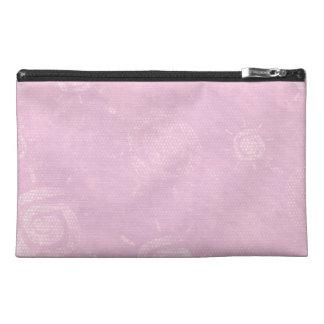 Light Pink Sun Pattern Travel Accessories Bag