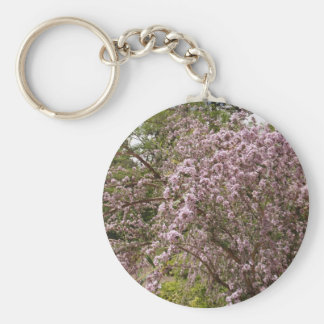 Light Pink Tree Blossom Key Chain